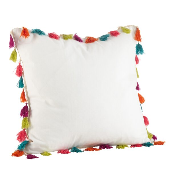 Vivace 100% Cotton Throw Pillow by Saro